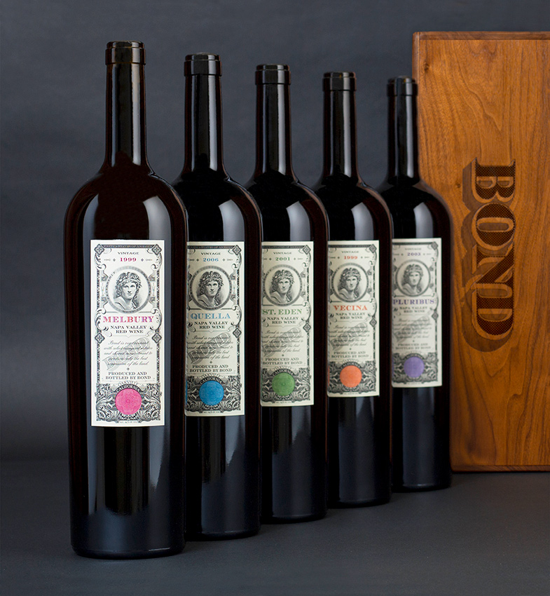 BOND Wines offered at the Napa Valley Library Wine Auction