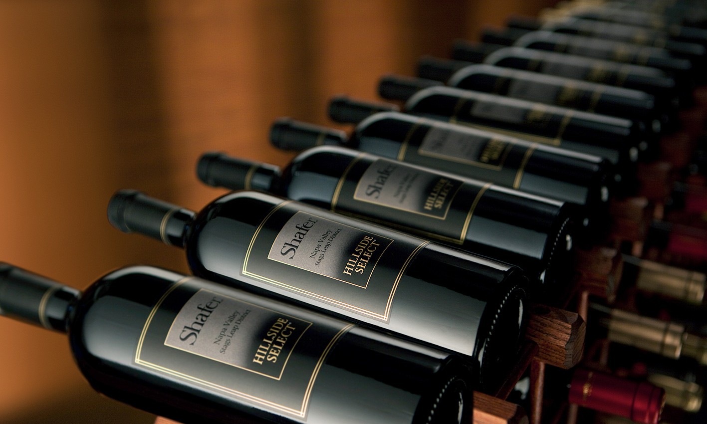 Shafer Wines offered at the Napa Valley Library Wine Auction